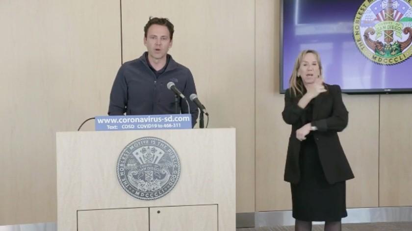 Confirman tercera muerte por coronavirus en San Diego