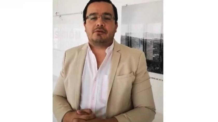 Sacan a diputado de Morena por toser en Congreso de Guanajuato(Captura de pantalla)