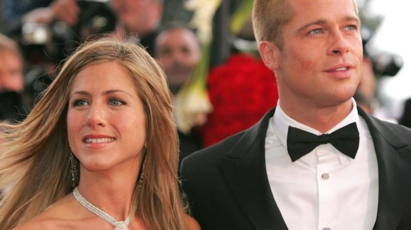 Jennifer Aniston y Brad Pitt(Agencias)