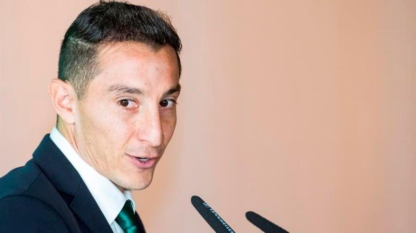Guardado quiere a México como su apellido ante Covid-19: EFE(EFE)