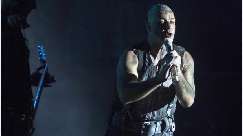 Hospitalizan a vocalista de Rammstein por coronavirus; va a cuidados intensivos(EFE)