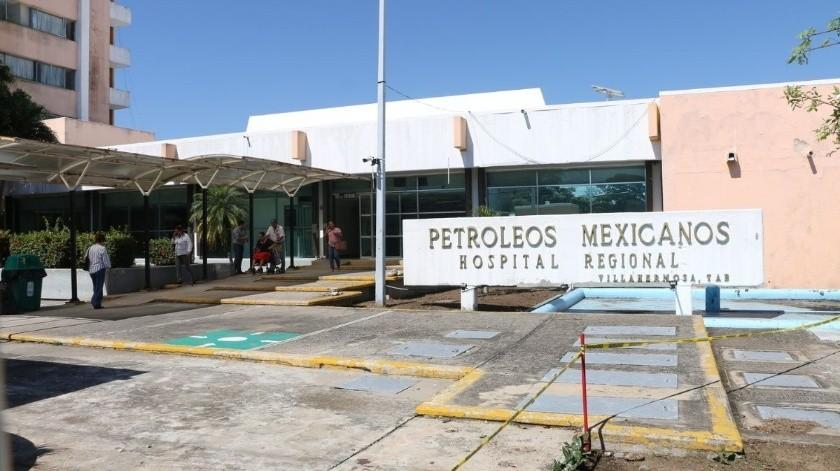 Hospital Regional de Pemex de Villa Hermosa Tabasco(Agencia Reforma)