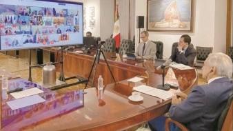 VIDEO: Comparte AMLO su participación en G20 virtual por Covid-19