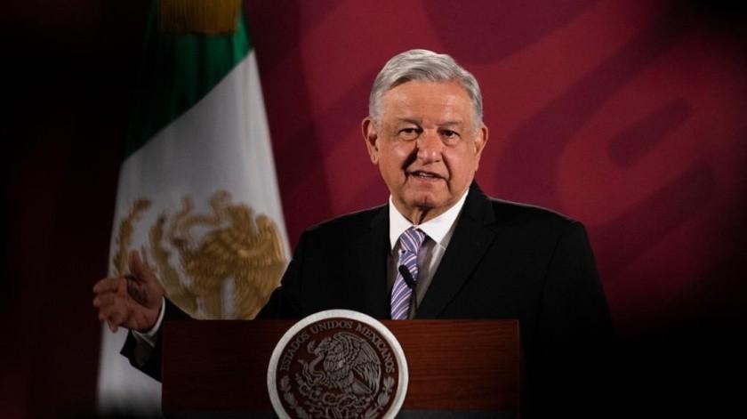 El presidente López Obrador visitará San Luis Río Colorado.(Archivo)