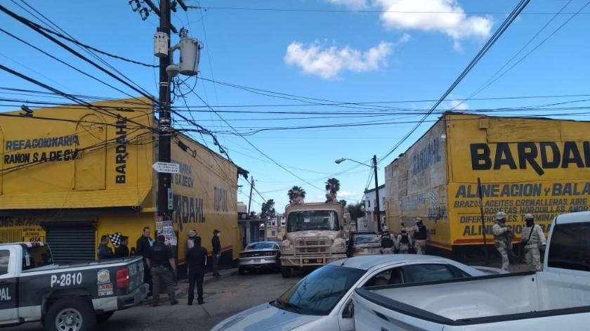 Decomisan droga en una refaccionaria de El Soler.(Margarito Martínez)