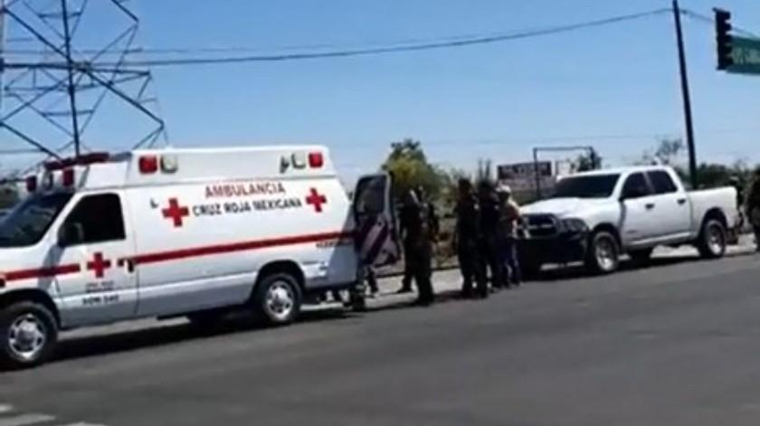 El hombre resultó herido de bala tras una agresión armada.