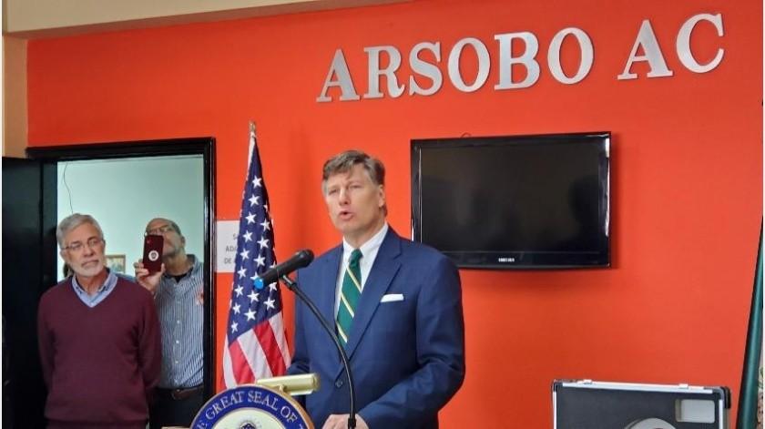 El embajador ofreció además una línea telefónica para sus connacionales, además de un webinar el próximo 31 de marzo, para contestar preguntas en tiempo real.(Archivo GH)