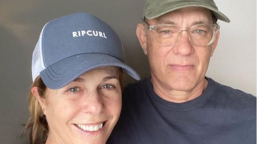 Tom Hanks y Rita Wilson están recuperados de COVID-19.(Instagram)