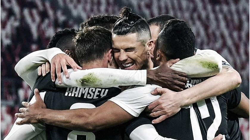 Serie A planea suspender sueldos de jugadores por pandemia(Instagram @juventus)