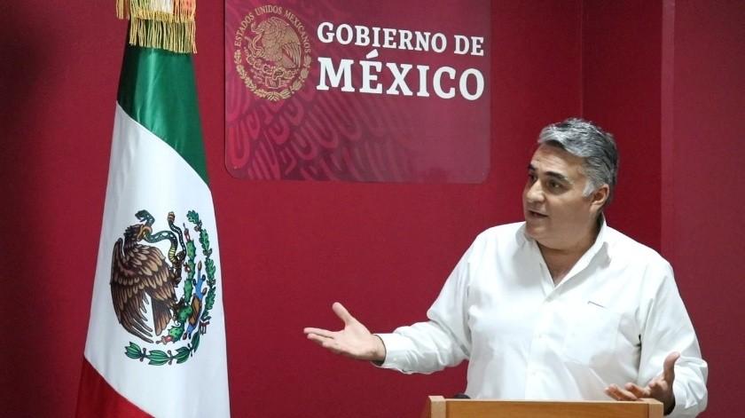 Alejandro Ruiz Uribe, Delegado Federal Único en Baja California.(Cortesía)