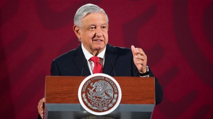 El presidente López Obrador.