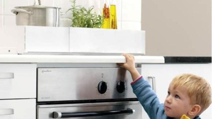 La cocina es uno de los lugares peligrosos para los más pequeños del hogar.(Banco Digital)