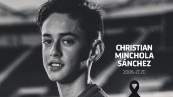 Muere Christian Minchola, cantanero del Atlético del Madrid