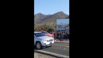 Captan a convoy armado en Buenavista, Michoacán