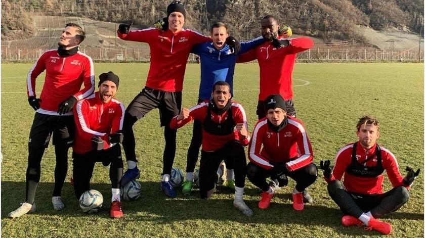 Nueve jugadores de FC Sion se niegan a recorte salarial y son despedidos(Instagram @fcsion)