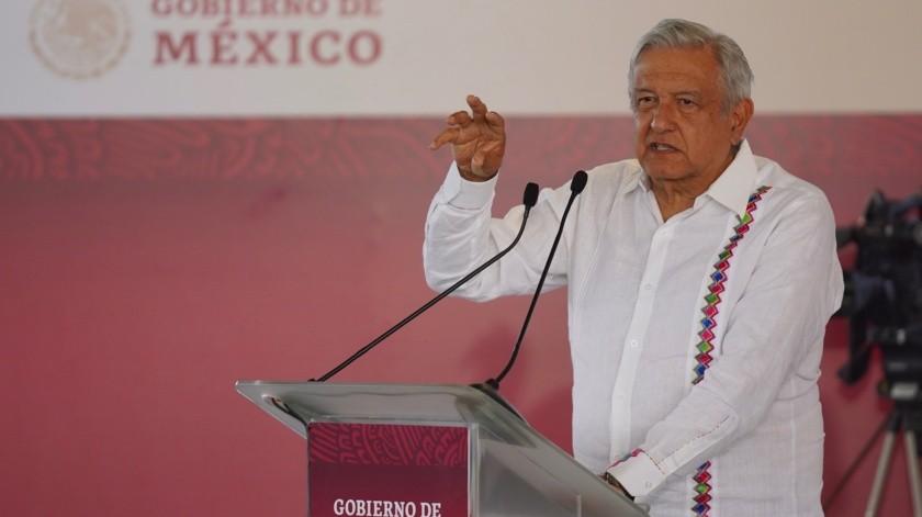 Reitera López Obrador que la cervecera se va de Mexicali(Víctor Medina)