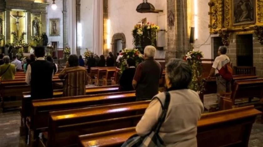 Analizan apertura de iglesias en CDMX  ante pandemia por coronavirus(El Universal)
