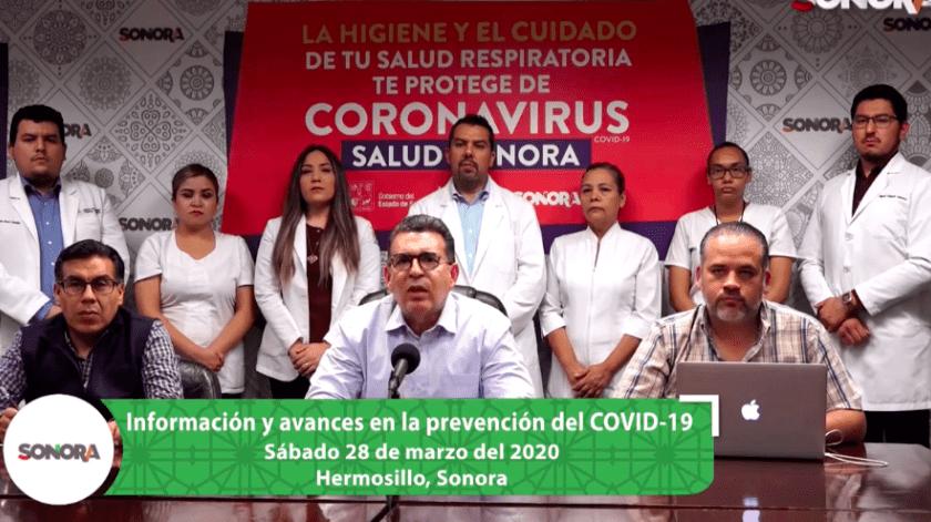 Registran 4 casos nuevos de COVID-19 en Sonora; 14 en total(Captura)