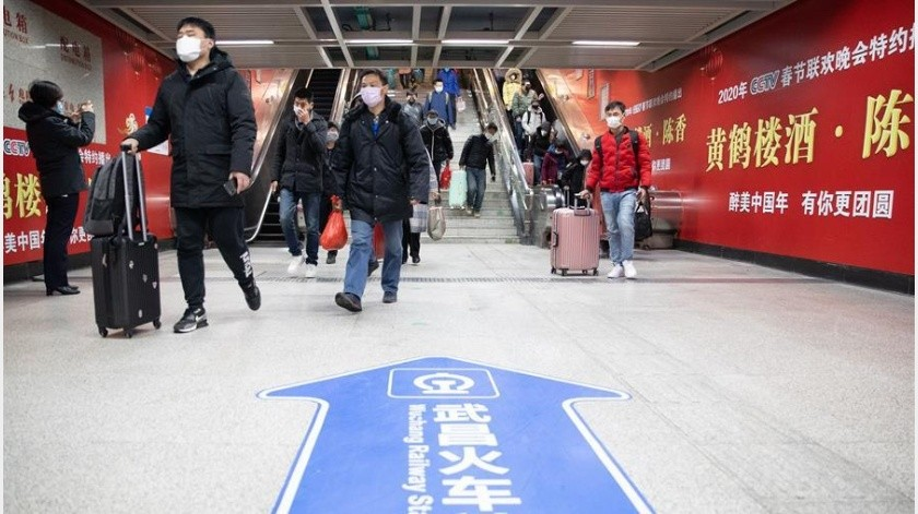 De este modo, el número total de infectados diagnosticados en China desde el inicio de la pandemia es de 81.439, de los que han perecido 3.300.(EFE)