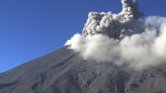 El Semáforo de Alerta Volcánica delPopocatépetlse encuentra enAmarillo Fase 2.