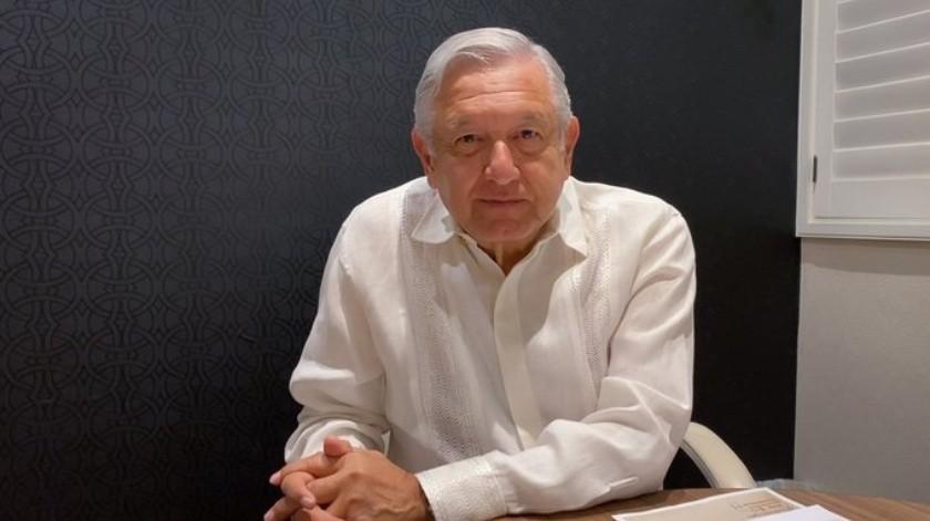 El presidente López Obrador ha pedido mantenerse informado sobre el tema de coronavirus.(Twitter.)