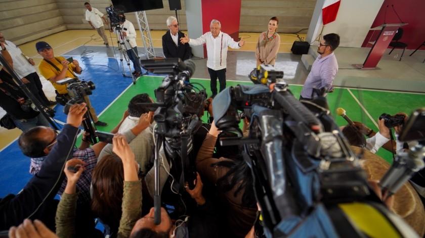 Es Mexicali prioritario para obras, dice AMLO(Víctor Medina)