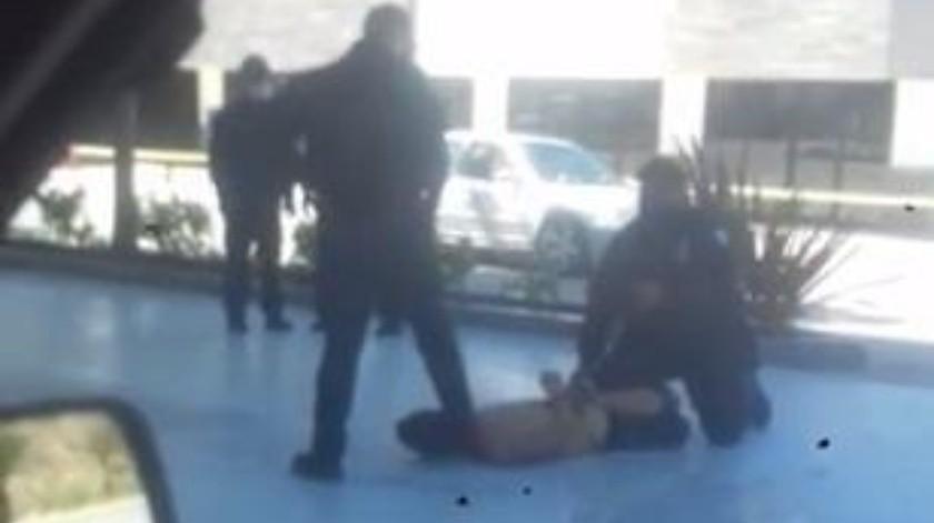 Los hechos ocurrieron el pasado viernes 28 de marzo en una gasolinera ubicada en la colonia Manuel Paredes.(Tomada de la red)