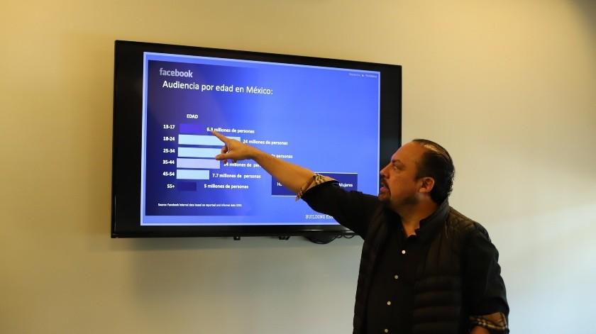 Jorge Camarillo Govea, de Business Thinking.(Pablo Hurtado)