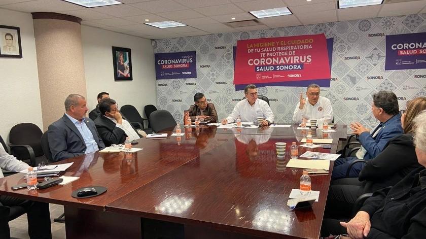 Se unen instituciones académicas y de investigación a Salud Sonora en combate a Covid-19.