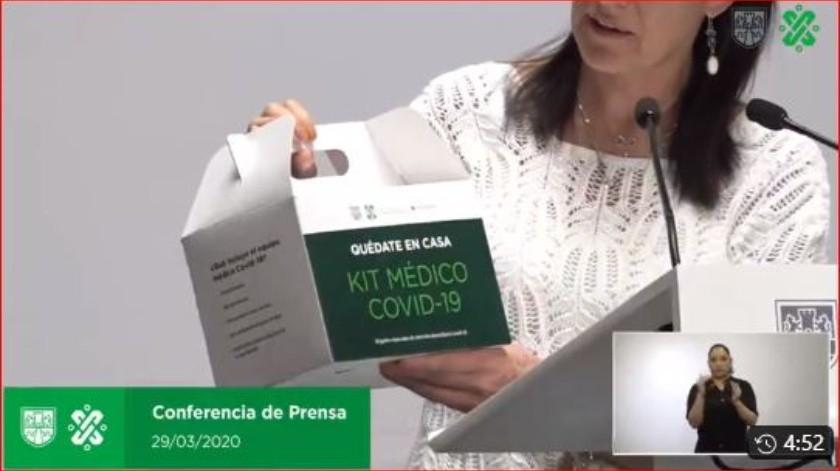 El director de Prestaciones Económicas y Sociales del IMSS, Mauricio Hernández Ávila, detalló que tienen 50 mil kits con los mismos insumos médicos que fueron donados por diversas empresas.