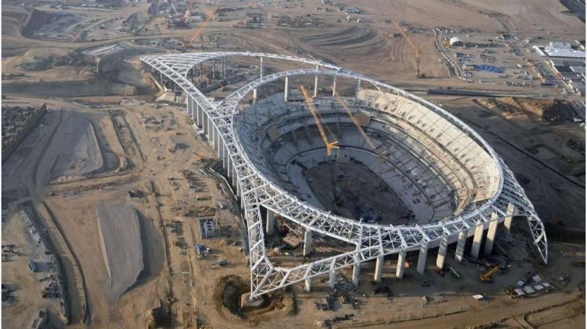 Construcción de nuevo estadio de Rams y Chargers sigue en pie a pesar la pandemia(Twitter)