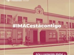 #IMACestácontigo, El arte de mi casa a tu casa, es el título de la campaña digital que se promueve desde el 18 de marzo.