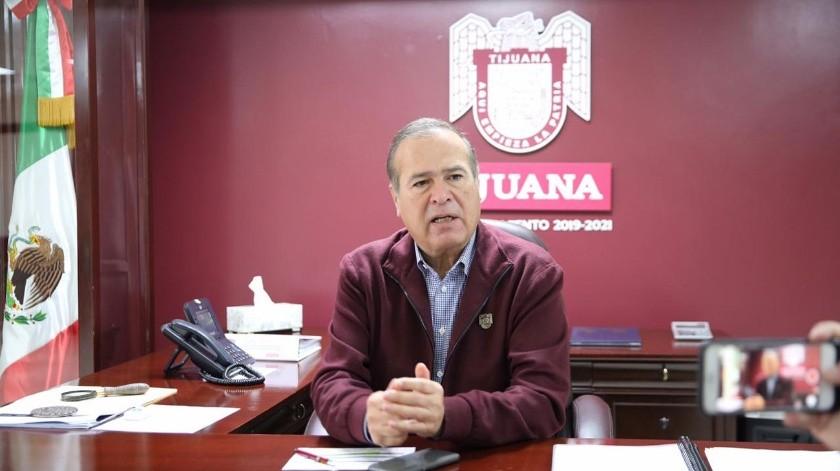 El alcalde de Tijuana, Arturo González Cruz,(Cortesía)
