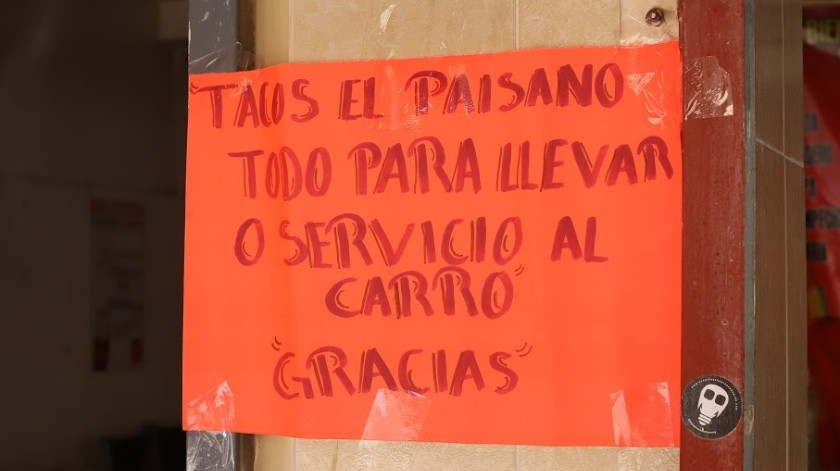 Comercios de Tijuana implementan medidas preventivas.(Pablo Hurtado)