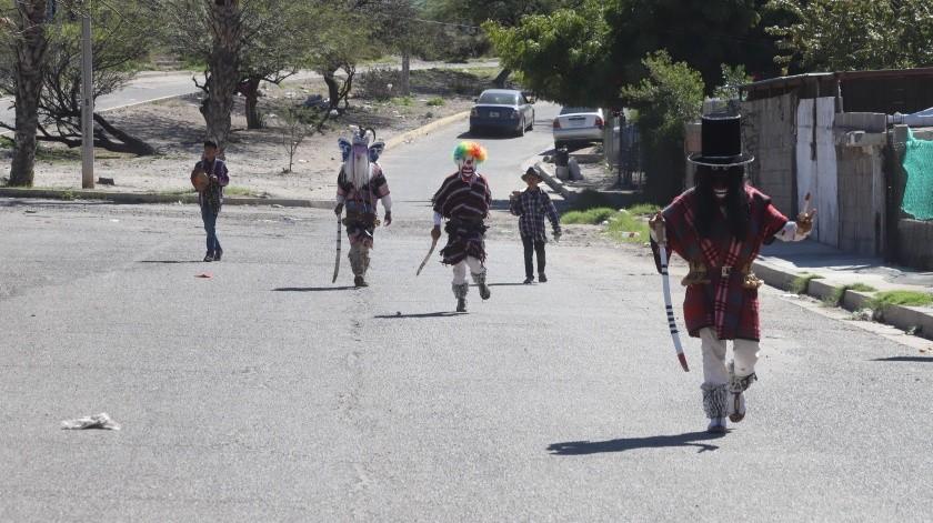 Yaquis buscarán negociar para poder terminar sus festividades, pues dicen ya les falta poco.(Teodoro Borbón)