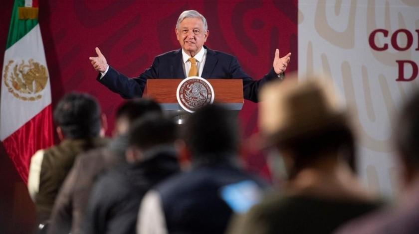 Dio este anuncio durante la conferencia matutina de este martes.(Gobierno de México)