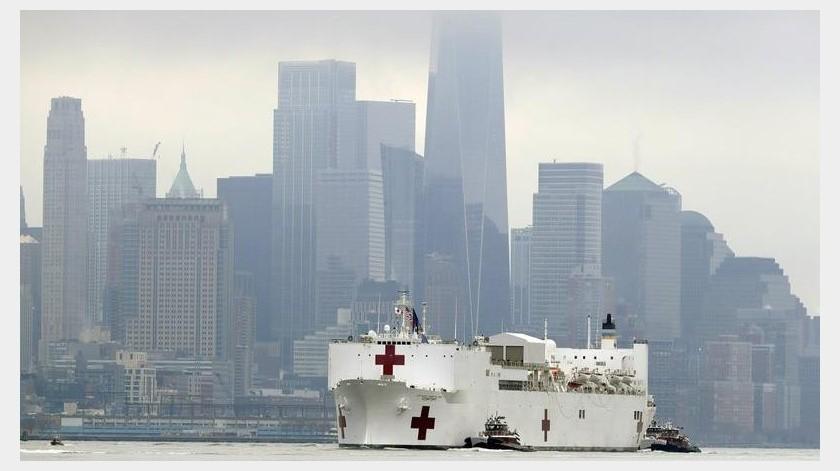 La ciudad de Nueva York reportó el martes la primera muerte de una persona menor de 18 años a causa del coronavirus(AP)