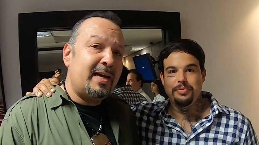 Pepe Aguilar le pide perdón a su hijo Emiliano.(Tomada de la red)
