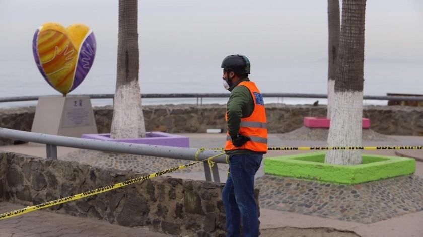 Así se encuentra Playas de Tijuana.(Gustavo Suárez)