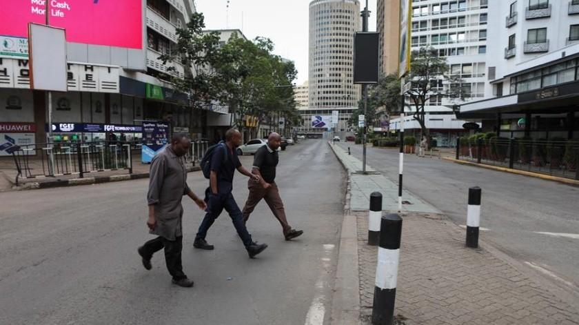 """La Policía, por su parte, ha asegurado en la red social Twitter que Yassin fue víctima de """"una bala perdida"""", pero no ha precisado quién disparó.(EFE)"""