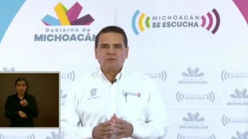 Suspenden actividades no esenciales en Michoacán por coronavirus(Captura de pantalla)