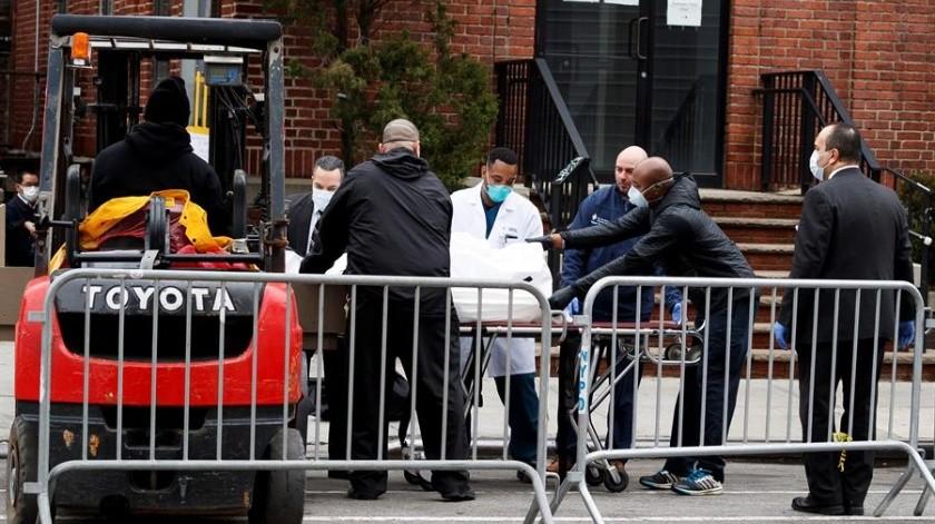 El estado de Nueva York, epicentro de la pandemia de la COVID-19 en Estados Unidos, registraba este martes 75 mil 795 casos.(EFE)