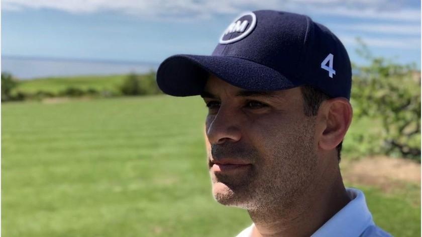 El ex futbolista Rafa Márquez mientras está en cuarentena aprovecha para subir vídeos a TikTok.(Instagram: rafa_marquez_rm4)