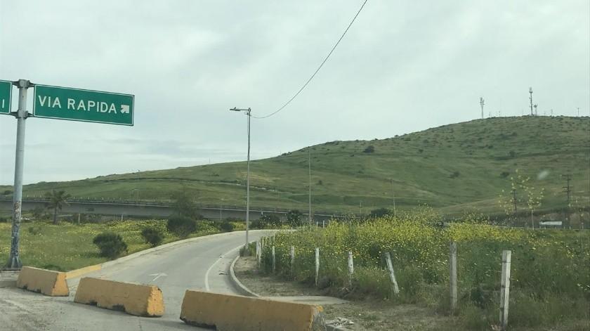 Permanecerá cerrado acceso a Vía Rápida Oriente a la altura del bulevar Simón Bolívar