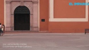El primer muerto se registró en Baja California, informó el Gobernador del Estado de Baja California, por lo que hizo un llamado a la gente a mantenerse en sus casas.