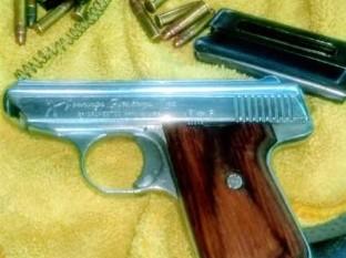 Aseguran PESP y SEDENA arma de fuego y narcótico en SLRC
