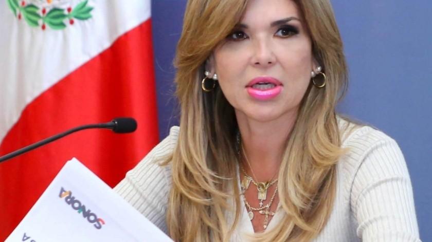 Claudia Pavlovich Arellano, gobernadora del Estado de Sonora(Archivo GH)