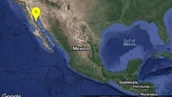 Registran sismo de 4.3 al sureste de San Felipe