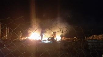 Hombre sufre graves quemaduras en incendio en Playas de Tijuana