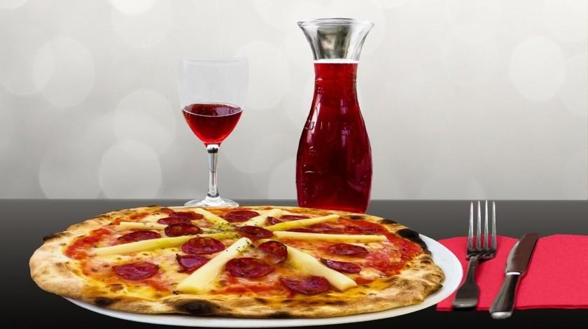 Te decimos por qué deberías pedir la pizza siempre sin cortar(Pixabay)